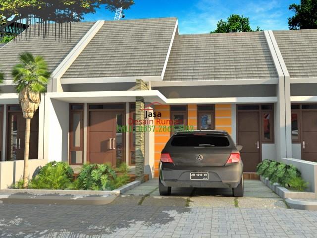 Rumah Minimalis 1 Lantai Type 36 Dengan Atap Model Pelana