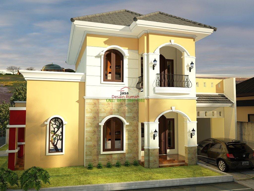 Rumah Minimalis 2 Lantai Posisi Tanah 2 Muka