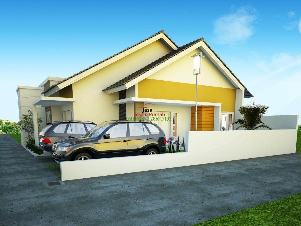 Rumah Sederhana Type 36 Dengan Carport Garasi Mobil